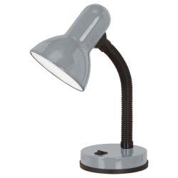 BASIC 1 Asztali lámpa ezüst E27 90977