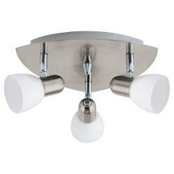 EGLO spot lámpa ENEA Mennyezeti nikkel E14 90986