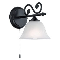 MURCIA Fali lámpa fekete E14 91006