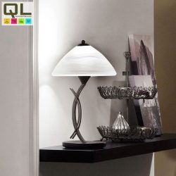 VINOVO Asztali lámpa barna E27 91435