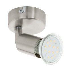 EGLO spot lámpa BUZZ-LED Mennyezeti  nikkel LED 92595