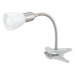 DAKAR 3 Csiptetős, satus lámpa ezüst E14 92932