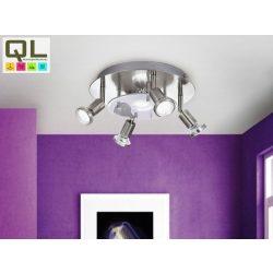 PAWEDO Mennyezeti lámpa nikkel LED 93083