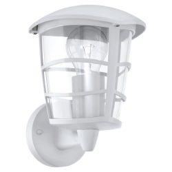 ALORIA Kültéri fali lámpa fehér E27 93094
