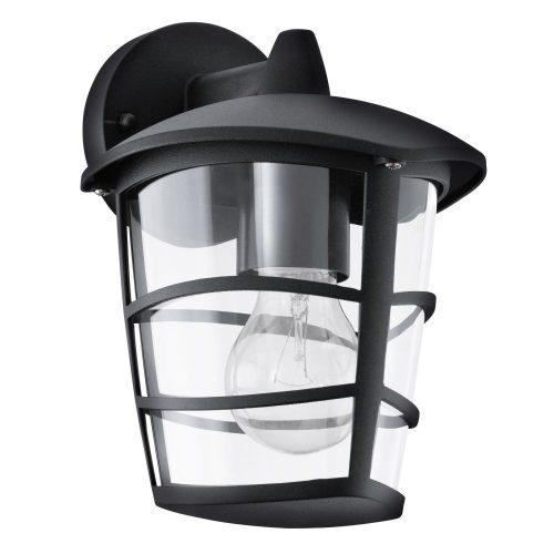 EGLO NIKITA Kültéri fali lámpa fekete 93098