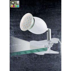 BANNY 1 Csiptetős, satus lámpa króm LED 93118