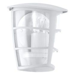 ALORIA Kültéri fali lámpa fehér E27 93403
