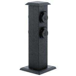 PARK 4 Dugalj oszlop fekete 93426