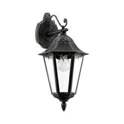 NAVEDO Kültéri fali lámpa fekete E27 93456