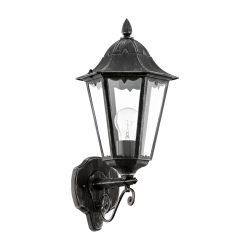 NAVEDO Kültéri fali lámpa fekete E27 93457