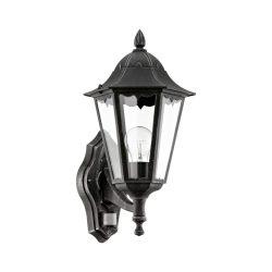 NAVEDO Kültéri fali lámpa fekete E27 93458