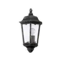 NAVEDO Kültéri fali lámpa fekete E27 93459