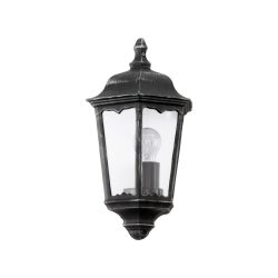 EGLO NAVEDO Kültéri fali lámpa fekete E27 93459