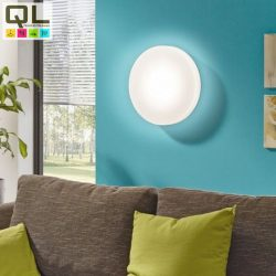 BERAMO Mennyezeti lámpa fehér LED távkapcsolható 93583