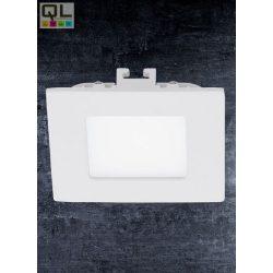 EGLO LED Panel süllyesztett 1x2,7WLED 230V, meleg  fehér 3000K, nem szabályozható négyzet alakú