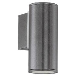 RIGA Kültéri fali lámpa szürke LED 94102