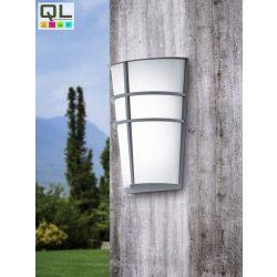 BREGANZO Kültéri fali lámpa ezüst LED-MODUL 94137