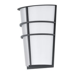 BREGANZO Kültéri fali lámpa szürke LED-MODUL 94138