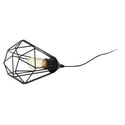 TARBES Asztali lámpa fekete E27 94192