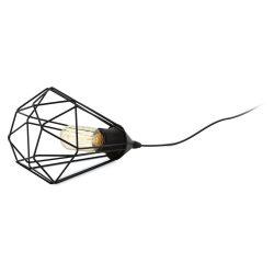 EGLO TARBES Asztali lámpa fekete E27 94192