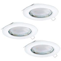 PENETO Süllyesztett, beépíthető lámpa fehér LED 94235