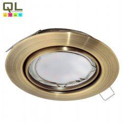 PENETO Süllyesztett, beépíthető lámpa bronz LED 94243