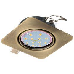 PENETO Süllyesztett, beépíthető lámpa bronz LED 94265