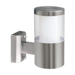 BASALGO 1 Kültéri fali lámpa acél LED-MODUL 94277