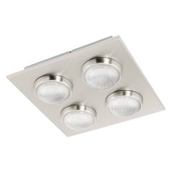 LOMBES Mennyezeti lámpa nikkel LED 94298 KIFUTÓ