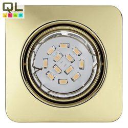 PENETO Süllyesztett, beépíthető lámpa sárgaréz LED 94402