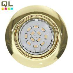 PENETO Süllyesztett, beépíthető lámpa sárgaréz LED 94405