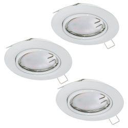 PENETO Süllyesztett, beépíthető lámpa fehér LED 94406