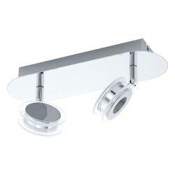 EGLO spot lámpa SAROLO Mennyezeti  króm LED 94489 KIFUTÓ
