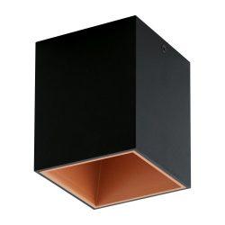 POLASSO Mennyezeti lámpa fekete LED 94496