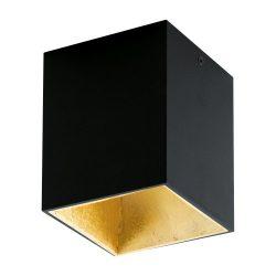 POLASSO Mennyezeti lámpa fekete LED 94497