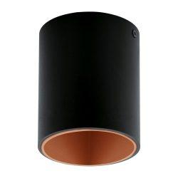 POLASSO Mennyezeti lámpa fekete LED 94501