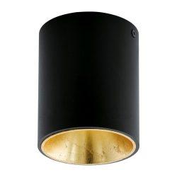POLASSO Mennyezeti lámpa fekete LED 94502
