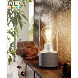 TORVISCO 1 Asztali lámpa szürke E27 94549