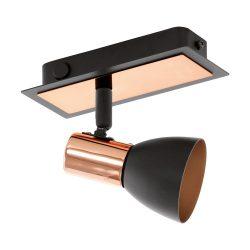EGLO spot lámpa BARNHAM Mennyezeti  fekete LED 94584