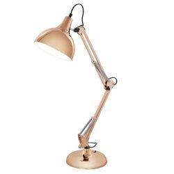 BORGILLIO Asztali lámpa vörösréz E27 94704
