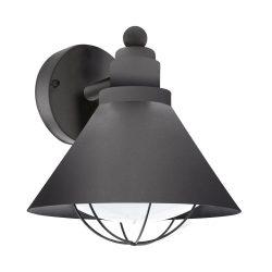BARROSELA Kültéri fali lámpa fekete E27 94805