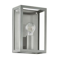 ALAMONTE Kültéri fali lámpa acél E27 94827