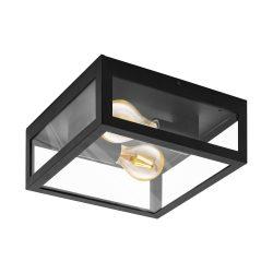 ALAMONTE 1 Kültéri fali lámpa fekete E27 94832