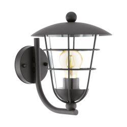 PULFERO Kültéri fali lámpa fekete E27 94834