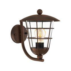 PULFERO 1 Kültéri fali lámpa barna E27 94854