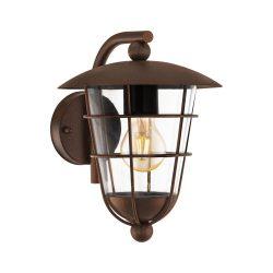 PULFERO 1 Kültéri fali lámpa barna E27 94855