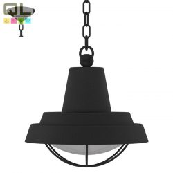 COLINDRES 1 Mennyezeti lámpa fekete E27 94861