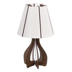 COSSANO Asztali lámpa fehér 94954