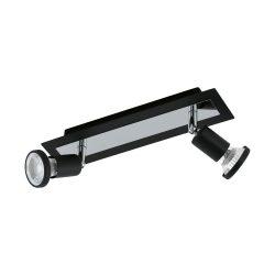 SARRIA Mennyezeti lámpa fekete 94964