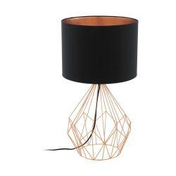 PEDREGAL 1 Asztali lámpa fekete 95185
